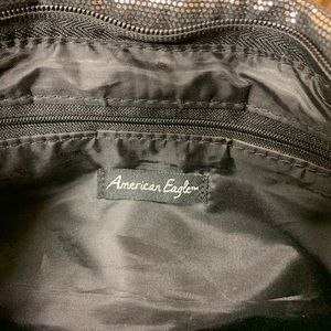 American Eagle By Payless Bags - American Eagle Sparkle Glitter Clutch Purse